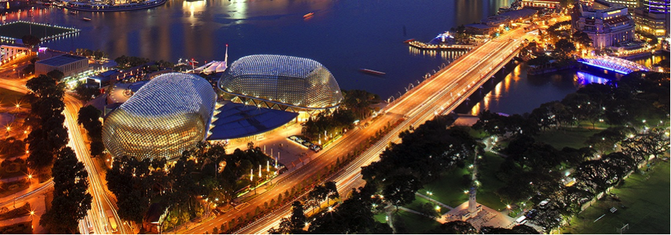 (c) Esplanade theatres on the bay singapore